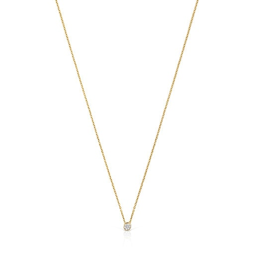 Les Classiques Necklace in Gold with Diamonds