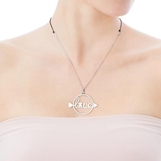 Silver San Valentin Necklace