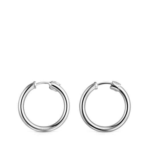 TOUS Basics small Earrings in Silver