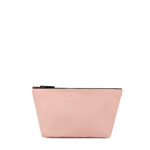 Small pink-black Kaos Shock Reversible Handbag