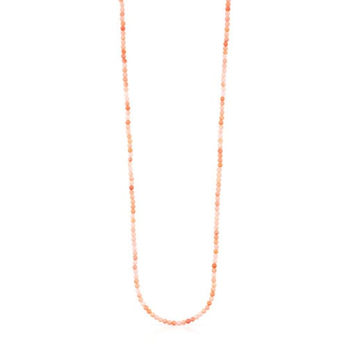 Rose Vermeil Silver Camille Necklace with Quartzite