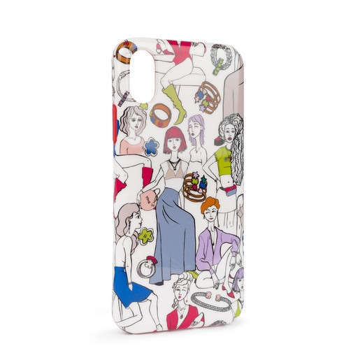 Multi-colored Tribe iPhone X/Xs case