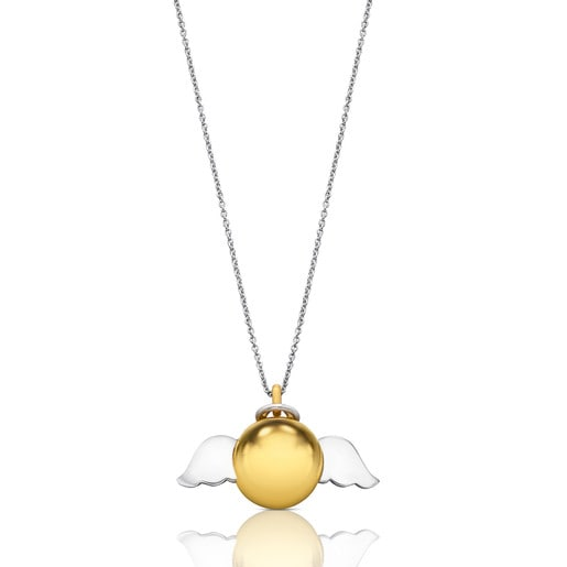Vermeil Silver and Silver Heaven Necklace
