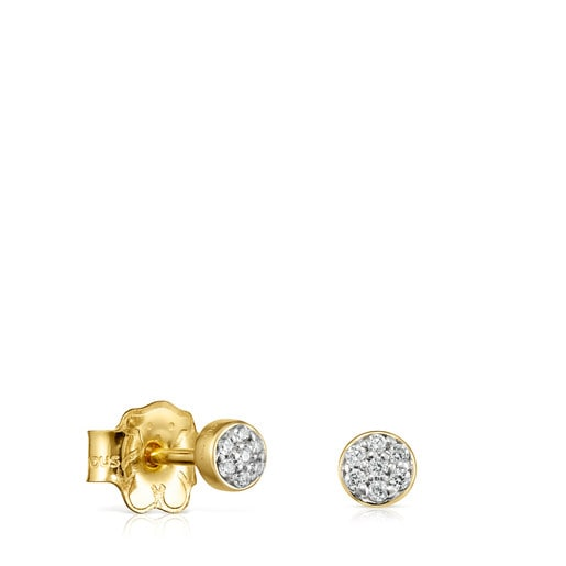 Les Classiques Earrings in Gold with Diamonds