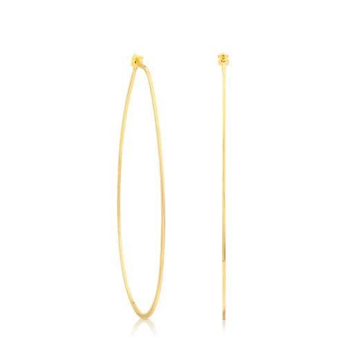 Vermeil Silver Lagrima Earrings