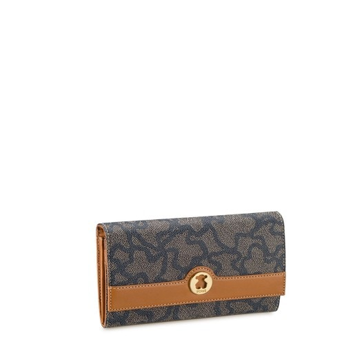 Nude-denim colored Kaos Tex Wallet