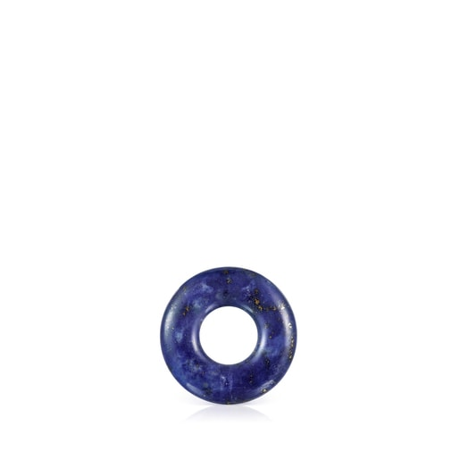 Small Hold Gems Pendant in Ultramarine and Silver