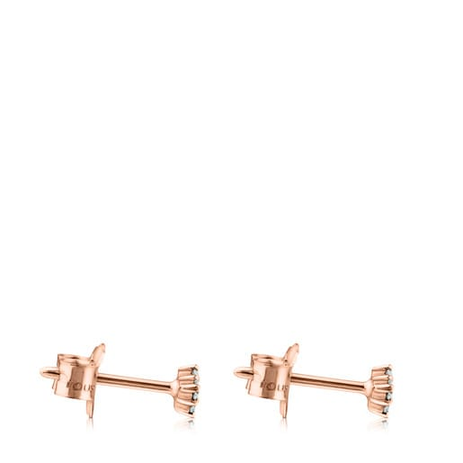 Rose gold TOUS Brillants Earrings with Diamonds