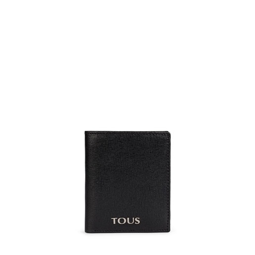 Small black Leather New Berlin Wallet