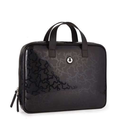 Black colored Kaos Shiny City bag