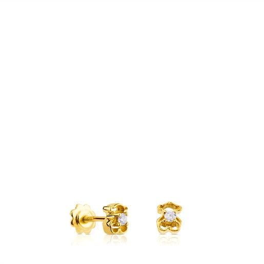 Gold Baby TOUS Earrings