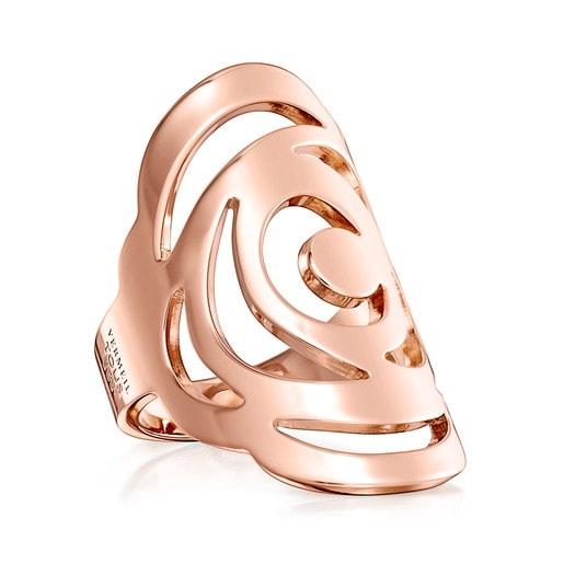 Rose Vermeil Silver Rosa de Abril Ring
