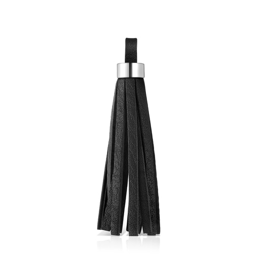 Leather and Silver TOUS Basics Pendant