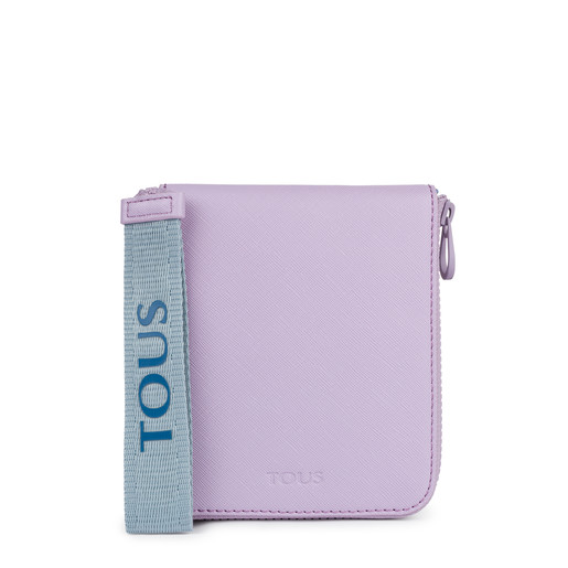 Multi-lilac Tous Tribe foldable shopping