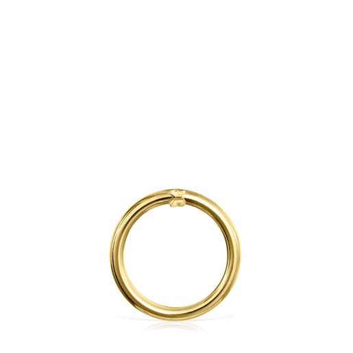 Medium Gold Hold Ring