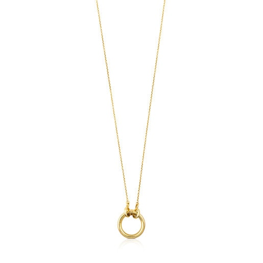Collar TOUS Hold de oro amarillo 18kt
