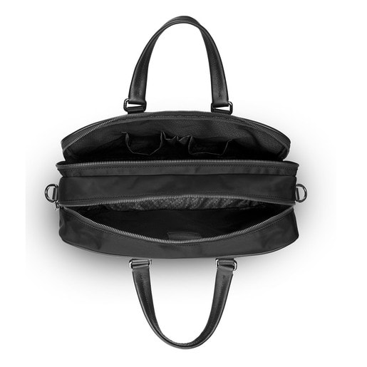 Black colored Nylon Berlin City bag