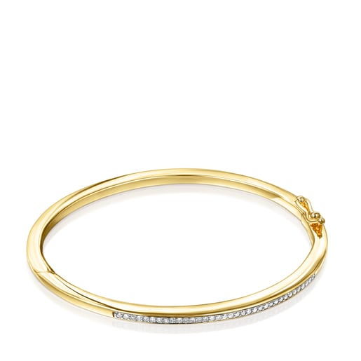 Bracelet Nocturne en Or Vermeil avec Diamants