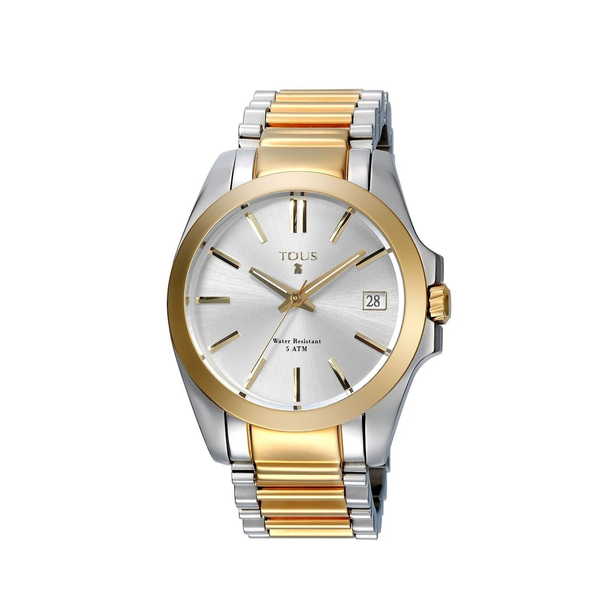 Two-tone Steel/gold IP Drive Combi Watch