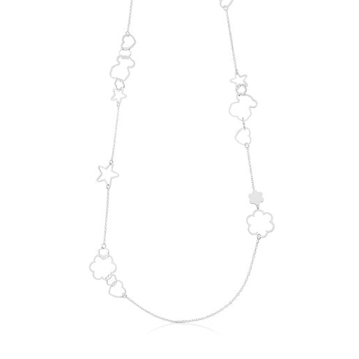 Silver New Silueta Necklace