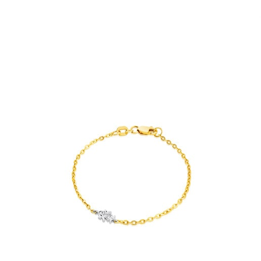 Gold Puppies Bracelet