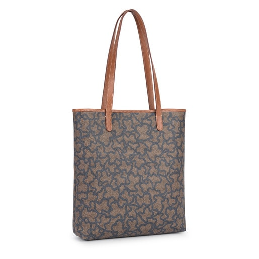 Nude-denim colored Canvas Kaos New Total Shopping bag