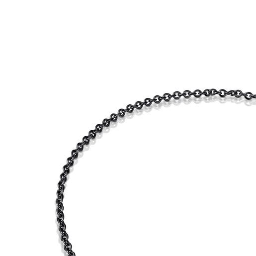 Dark Silver Hold Choker
