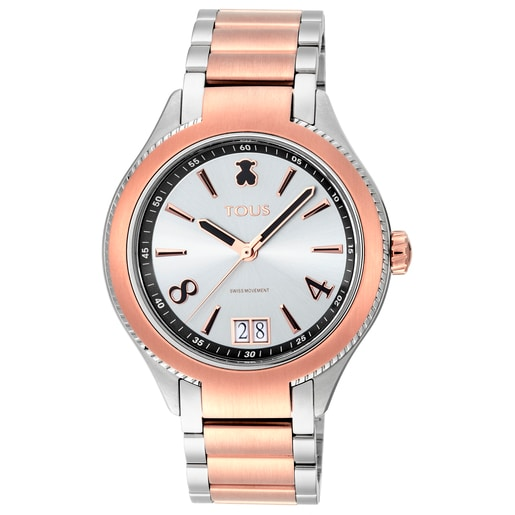 Two-tone Rose/Steel IP ST Watch