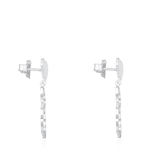 Silver New Silueta Earrings