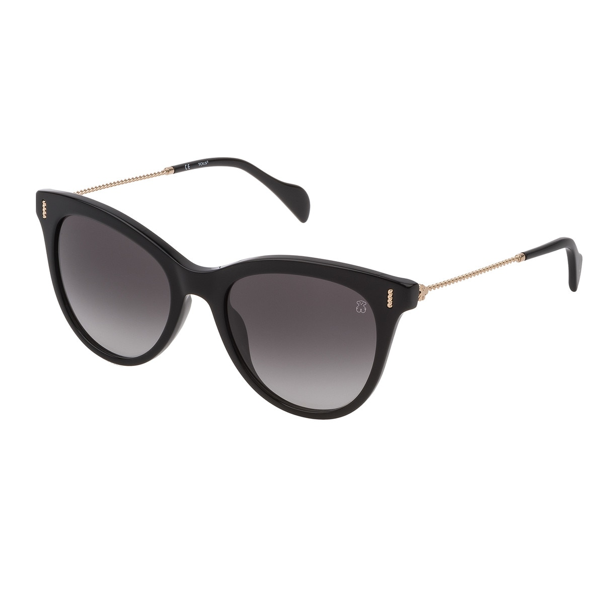 Black Acetate Braided Sunglasses