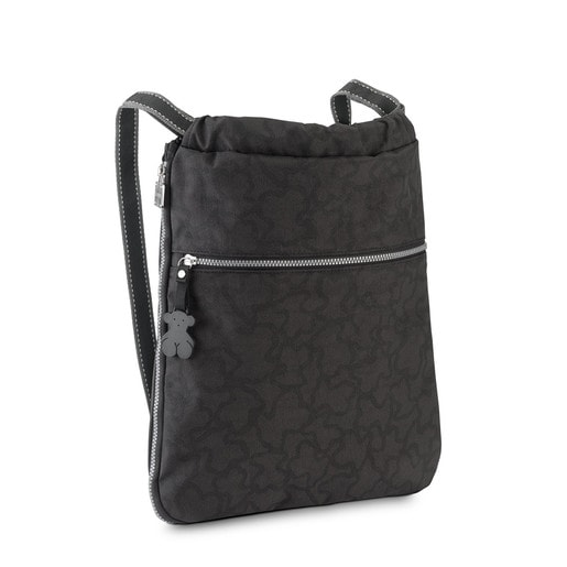 Anthracite-black colored Kaos New Colores Backpack
