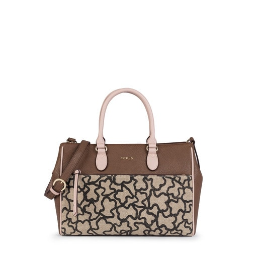 Brown-pink Elice New City bag
