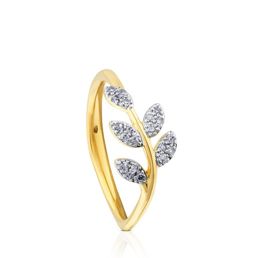Anillo Gem Power de Oro con Diamantes