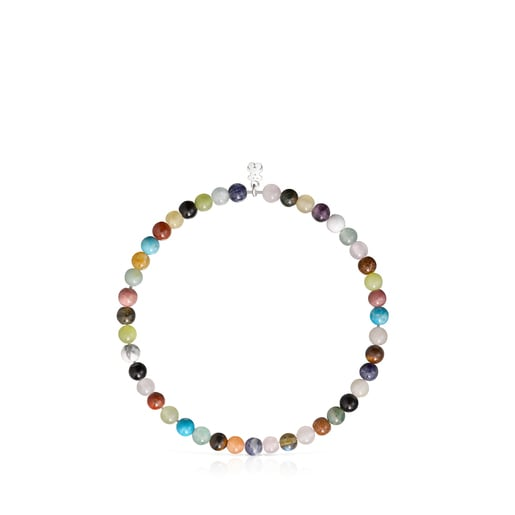 TOUS Color Bracelet with Gemstones and Silver