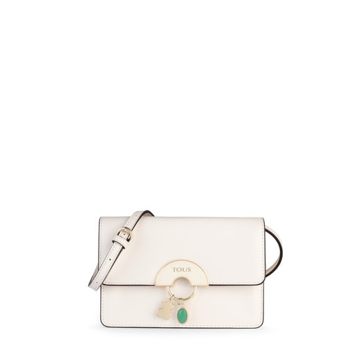 Small white Hold Crossbody Bag