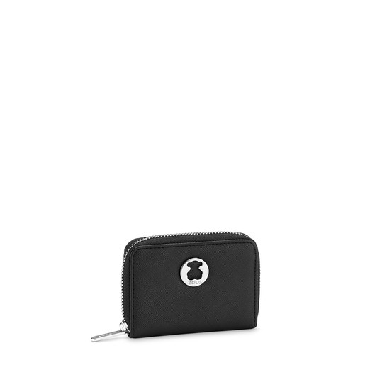 Black Dubai Saffiano Change purse