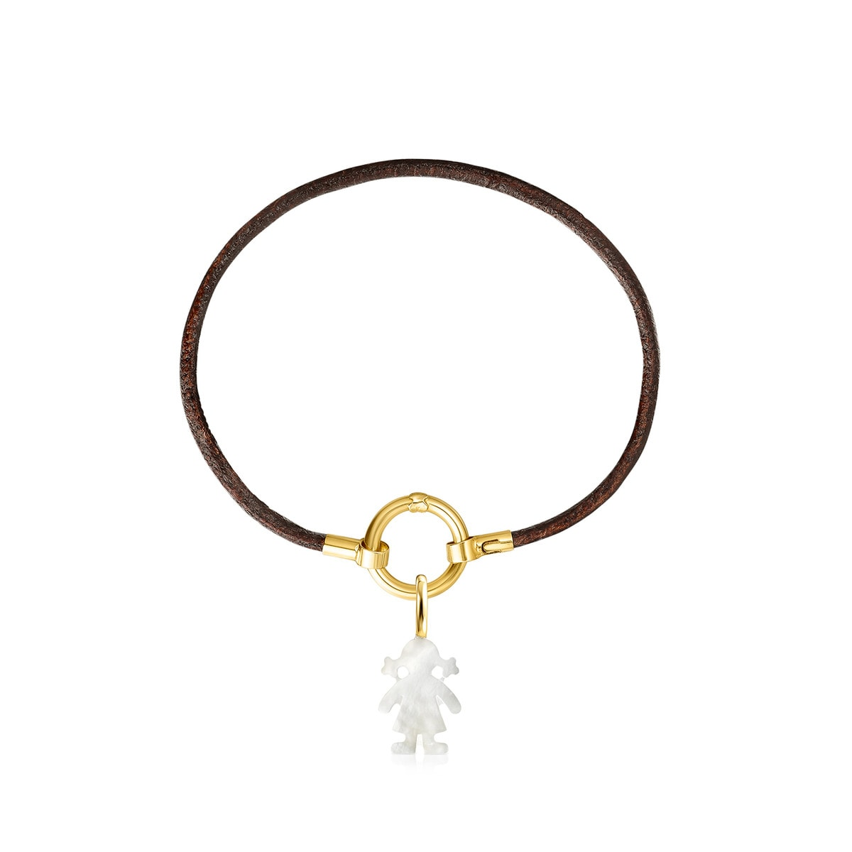 TOUS Mama girl Gold and Mother of Pearl bracelet