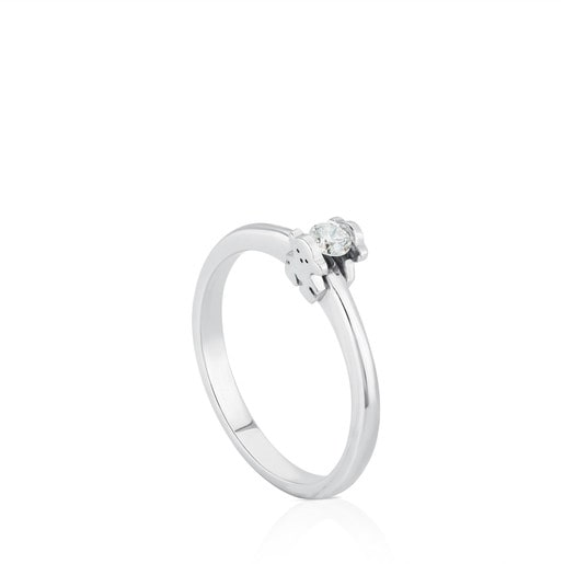Anillo TOUS Sweet Diamonds de Oro blanco con Diamantes