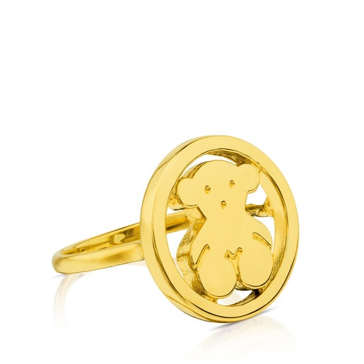 Camille Ring in Gold.