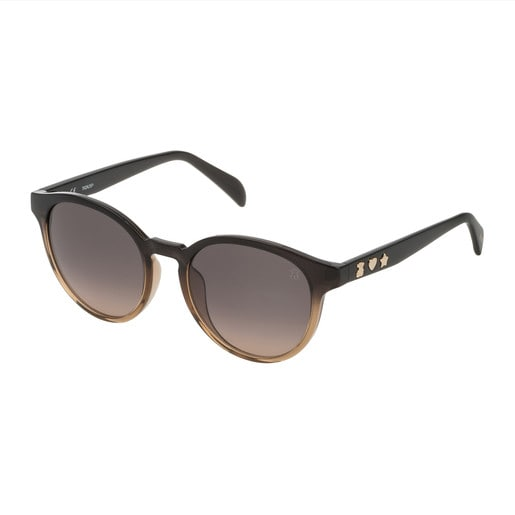 Brown Three Motives Pantos Sunglasses