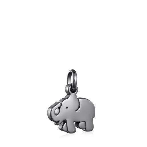 Dark Silver Sweet Dolls elephant Pendant
