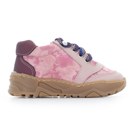 Bota casual Run Rosa