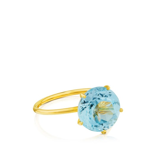 Ivette Ring in Gold with Topaz
