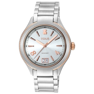 Two-tone Steel/Rose IP ST Watch