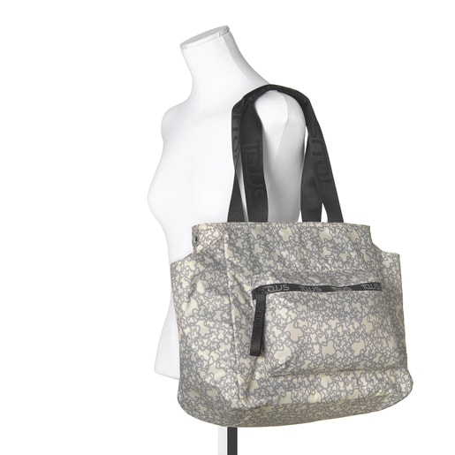 Beige-gray Kaos Mini Sport Mommy Bag