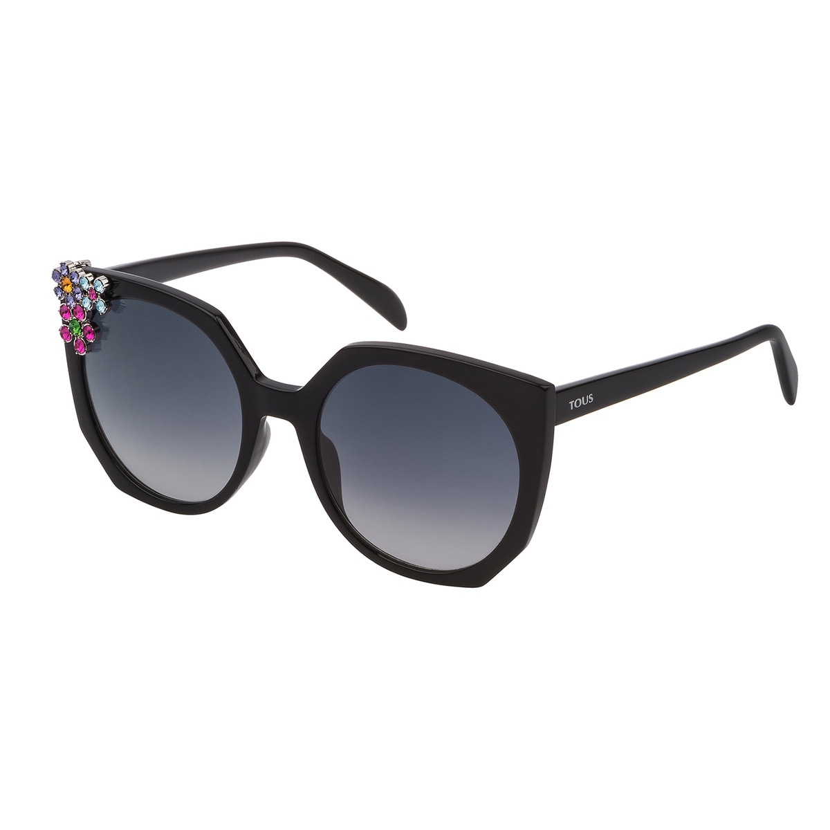 Black Acetate Mix and Match Sunglasses