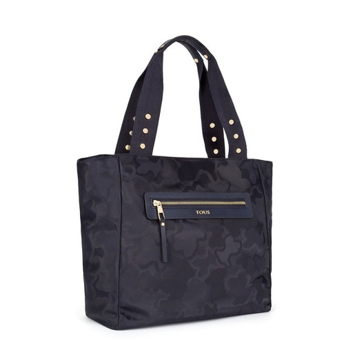 Navy colored Canvas Valsaria Tote bag