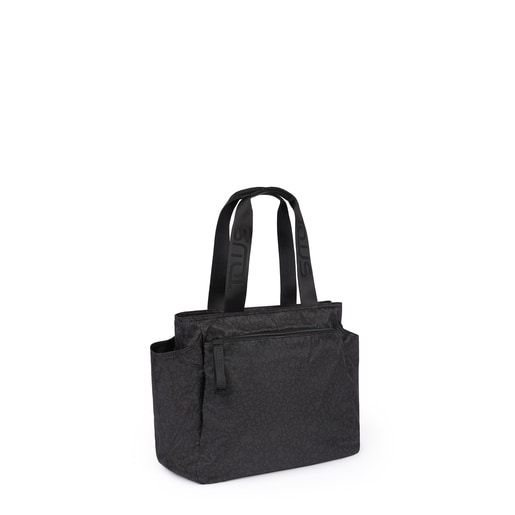 Mommy Bag Kaos Mini Sport preto-cinzento