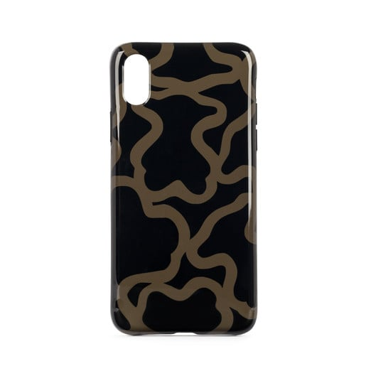 Black-camel Kaos iPhone X Cellphone case